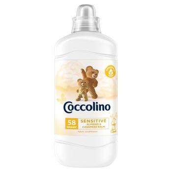 Coccolino Sensitive Almond & Cashmere Balm Płyn do płukania tkanin 1450 ml (58 prań)