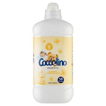 Coccolino Sensitive Almond & Cashmere Balm Płyn do płukania tkanin 1450 ml