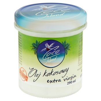Coco Island Olej kokosowy extra virgin 290 ml