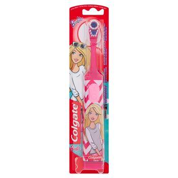 Colgate Barbie Szczoteczka do zębów na baterie bardzo miękka