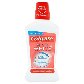 Colgate Max White Płyn do płukania jamy ustnej 500 ml