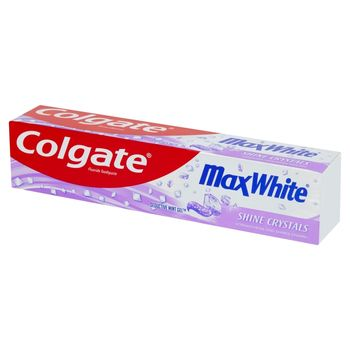 Colgate Max White Shine Crystals Pasta z fluorem 125 ml