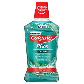 Colgate Plax Soft Mint Płyn do płukania jamy ustnej 500 ml