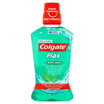 Colgate Plax Soft Mint Płyn do płukania jamy ustnej 500 ml