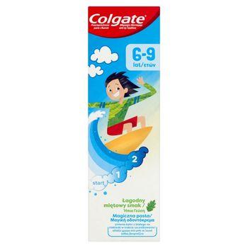 Colgate Przeciwpróchnicza pasta z fluorem 6-9 lat 50 ml