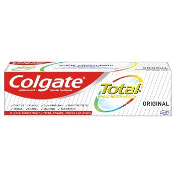 Colgate Total Original multiochronnapasta do zębów z fluorem, miętowa 75 ml