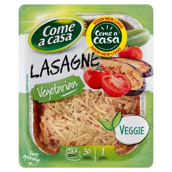 Come a Casa Lasagne z warzywami 400 g