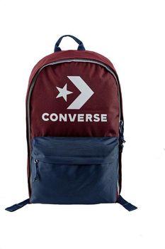 Converse Plecak jednokomorowy w kolorze bordowo-granatowym