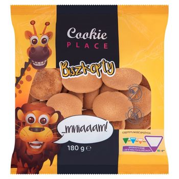 Cookie Place Biszkopty 180 g