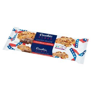 Cookie Place Ciastka kruche z kawałkami czekolady 125 g