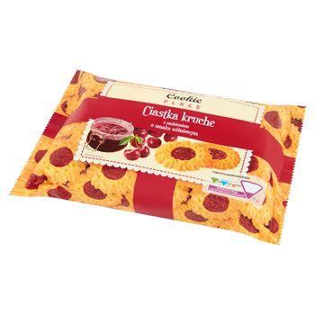 Cookie Place Ciastka kruche z nadzieniem o smaku wiśniowym 300 g