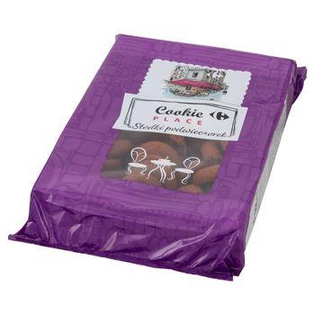 Cookie Place Kruche ciastka kakaowe nadziewane kremem czekoladowym 900 g