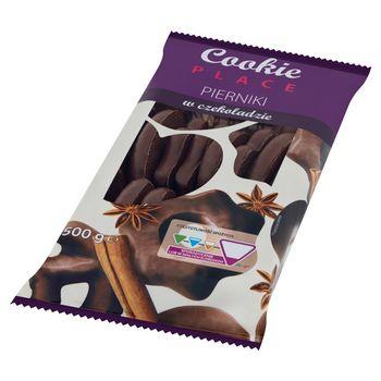 Cookie Place Pierniki w czekoladzie 500 g