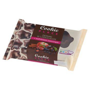 Cookie Place Pierniki w czekoladzie z nadzieniem owocowym 200 g