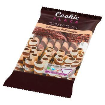 Cookie Place Rurki waflowe z kremem kakaowym 280 g