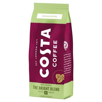 Costa Coffee Bright Blend Medium Roast Kawa palona mielona 200 g