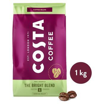 Costa Coffee Bright Blend Medium Roast Kawa palona ziarnista 1 kg