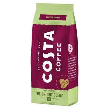 Costa Coffee Bright Blend Medium Roast Kawa palona ziarnista 200 g