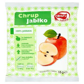 Crispy Natural Suszone chipsy z jabłka 18 g