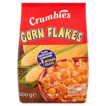 Crumbies Corn Flakes Płatki kukurydziane 500 g