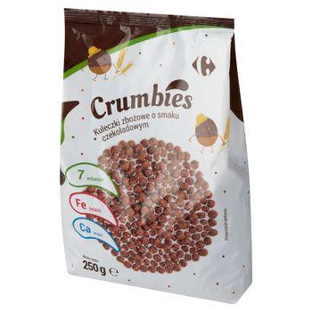 Carrefour Crumbies Kuleczki zbożowe o smaku czekoladowym 250 g