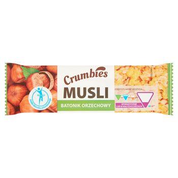 Crumbies Musli Batonik orzechowy 25 g