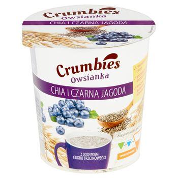 Crumbies Owsianka chia i czarna jagoda 65 g