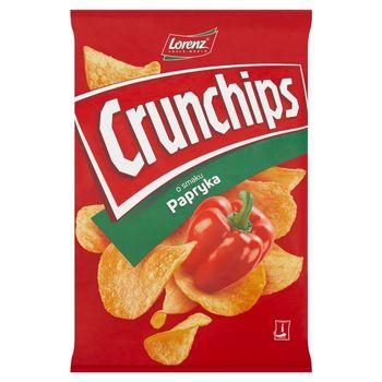 Crunchips Chipsy ziemniaczane o smaku papryka 140 g
