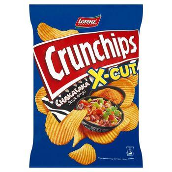 Crunchips X-Cut Chipsy ziemniaczane o smaku chakalaka 140 g