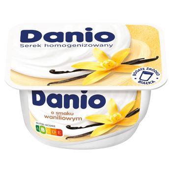 Danio Serek homogenizowany o smaku waniliowym 140 g