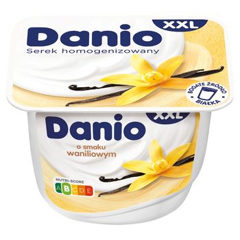 Danio XXL Serek homogenizowany o smaku waniliowym 220 g