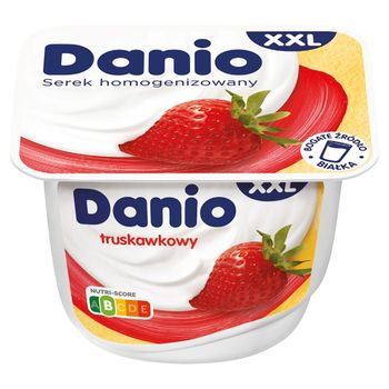 Danio XXL Serek homogenizowany truskawkowy 200 g