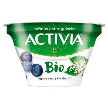Danone Activia Bio Jogurt jagoda z nutą kwiatu bzu 150 g