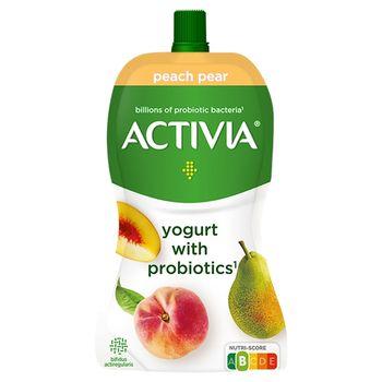Activia Jogurt brzoskwiniowo-gruszkowy 130 g