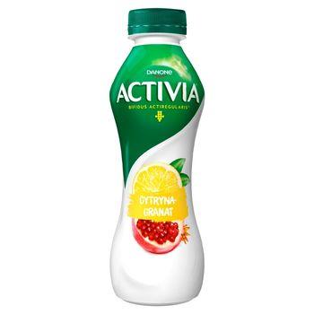Danone Activia Jogurt cytryna granat 280 g