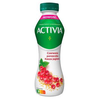 Activia Jogurt czerwona porzeczka kasza jaglana 280 g