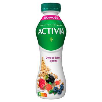 Activia Jogurt owoce leśne zboża 280 g