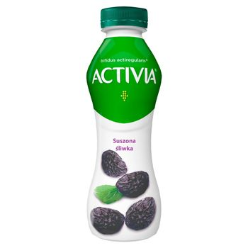 Danone Activia Jogurt suszona śliwka 300 g