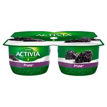 Danone Activia Jogurt suszona śliwka 480 g (4 x 120 g)