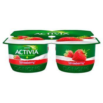 Activia Jogurt truskawka 480 g (4 x 120 g)