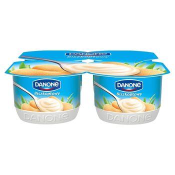 Danone Biszkoptowy Jogurt 4 x 120 g