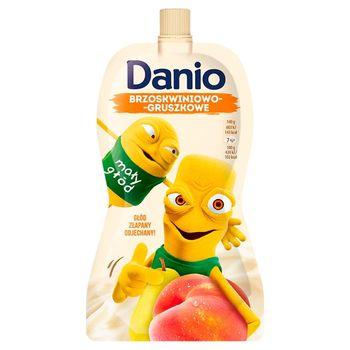 Danone Danio Serek homogenizowany brzoskwiniowo-gruszkowy 140 g