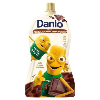 Danone Danio Serek homogenizowany o smaku czekoladowo-orzechowym 140 g