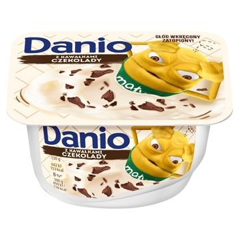 Danone Danio Serek homogenizowany z czekoladą 130 g