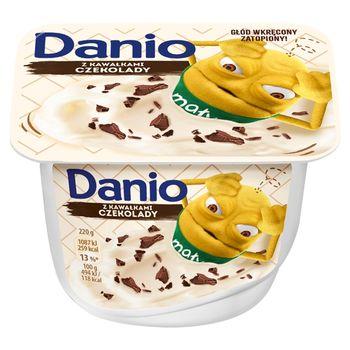 Danone Danio Serek homogenizowany z czekoladą 220 g