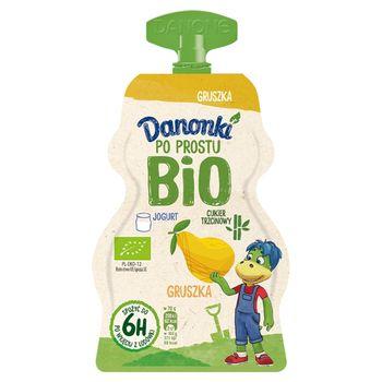 Danone Danonki Po prostu Bio Jogurt gruszka 70 g