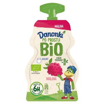 Danone Danonki Po prostu Bio Jogurt malina 70 g