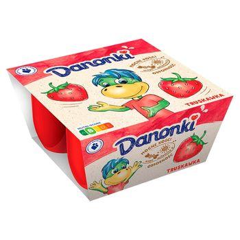 Danone Danonki Serek truskawka 200 g (4 x 50 g)