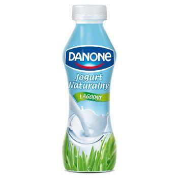 Danone Jogurt naturalny łagodny 290 g