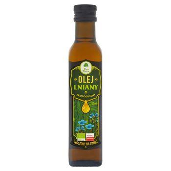 Dary Natury Ekologiczny olej lniany tłoczony na zimno 250 ml